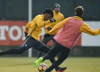 Cuadrado y la Juve se preparan para su primer partido de 2017