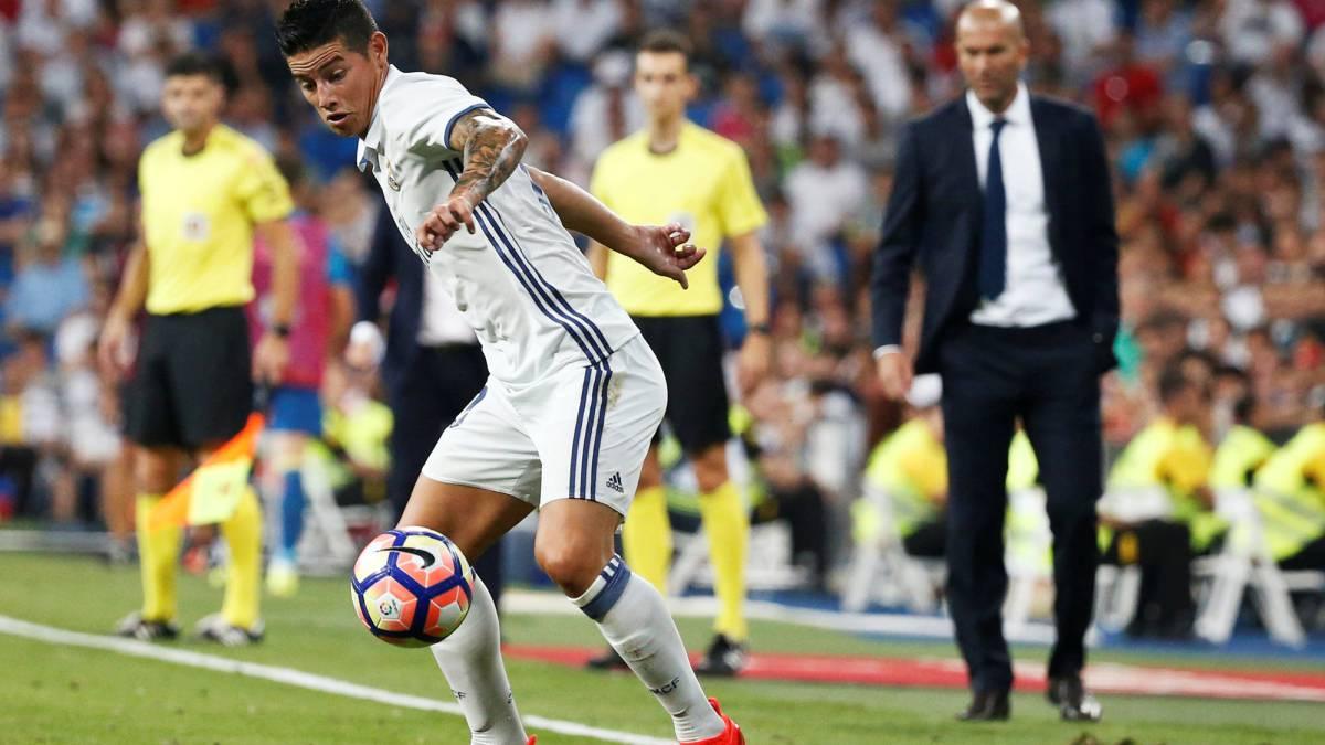 Amigos: James siguió en el Madrid por Cristiano