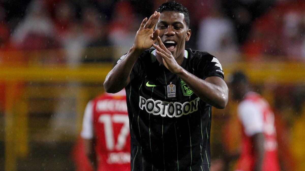 Orlando Berrío a Flamengo o quedarse en Nacional: el jugador recibió una oferta de un contrato de cuatro años para jugar con el club brasileño, que disputará la Copa Libertadores 2017