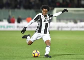 Juventus perdió ante Fiorentina con Cuadrado de lateral