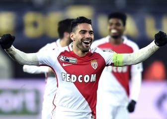 Falcao y la meta contra Lorient: llegar a 250 goles en su carrera