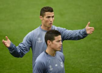De James a Cristiano: 'Cracks' criticados por el Bernabéu