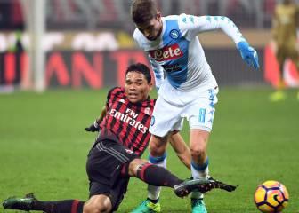 Resumen: Milan 1-2 Napoli, Liga Italia