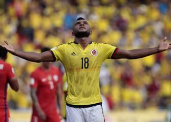 Borja de vuelta en Brasil, donde ya hizo tres goles