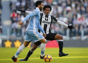 Cuadrado figura: asistencia ante la Lazio y 180 minutos en 2017