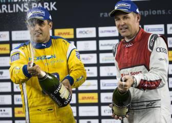 Juan Pablo Montoya gana su primera Carrera de Campeones