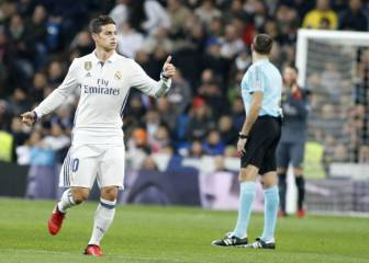 Agenda AS: James regresa para enfrentar a Celta de Vigo