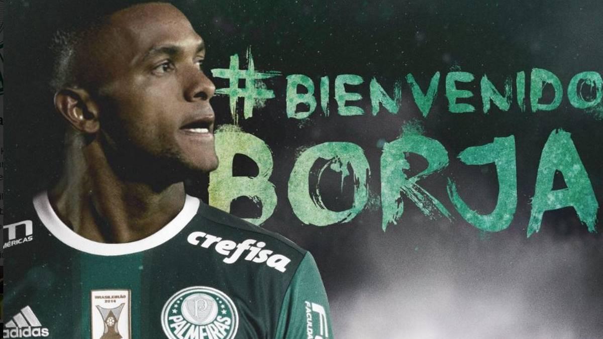 Palmeiras Oficializa A Borja Como Su Nuevo Refuerzo As