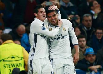 Real Madrid 1x1: James rinde en gran nivel por las bandas