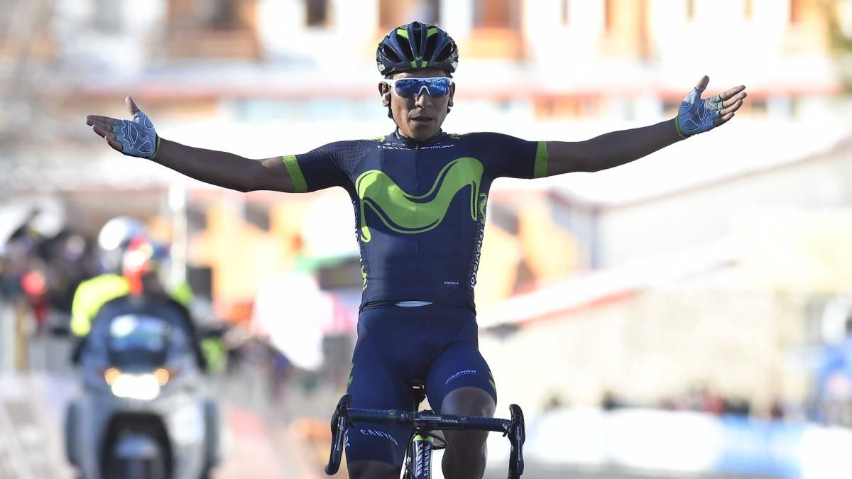 Nairo Quintana gana su segundo título de la vuelta Tirreno-Adriático