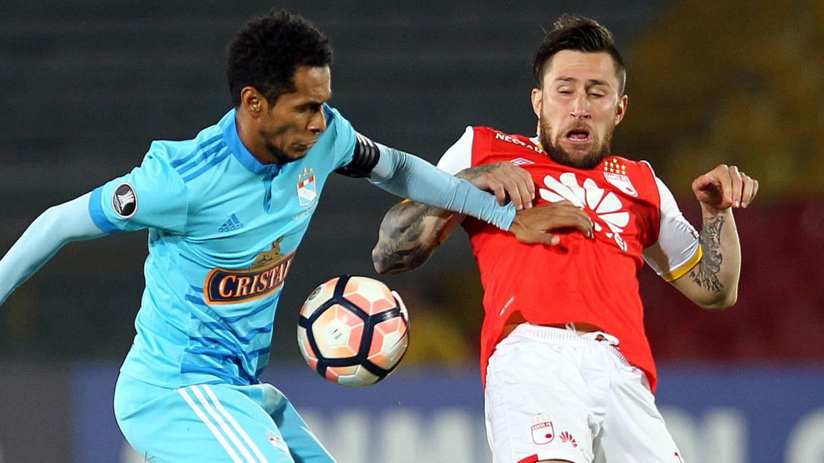 Santa Fe golea y es segundo de su grupo en Copa Libertadores
