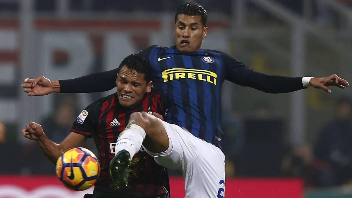 Inter y Milan empataron en primer derbi 'chino' della Madonnina