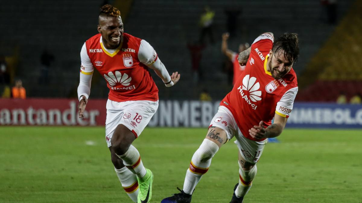 Santa Fe iguala 0-0 con Santos, en Colombia