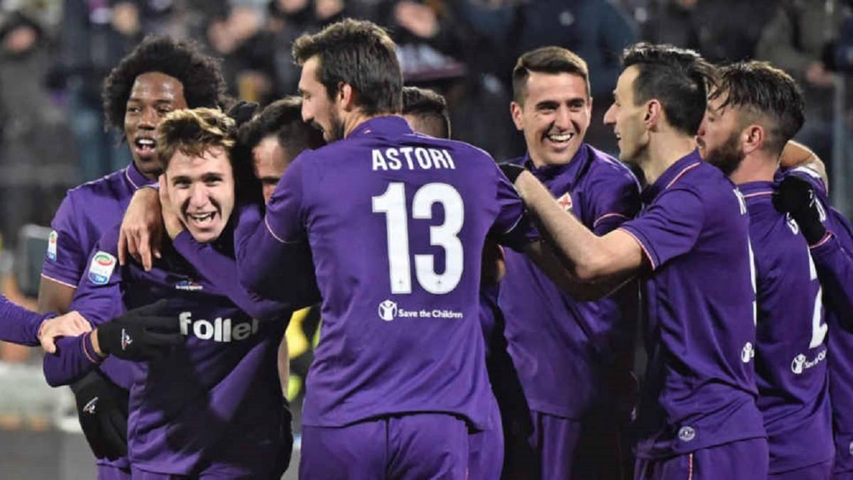Inter de Milan se presenta en cancha de Fiorentina