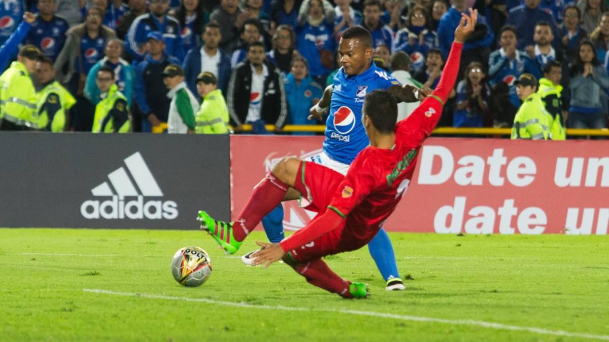 Millonarios venció 2-1 a Cortuluá