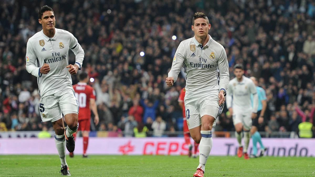 James espera por Sevilla al que le hizo 4 goles en 5 partidos