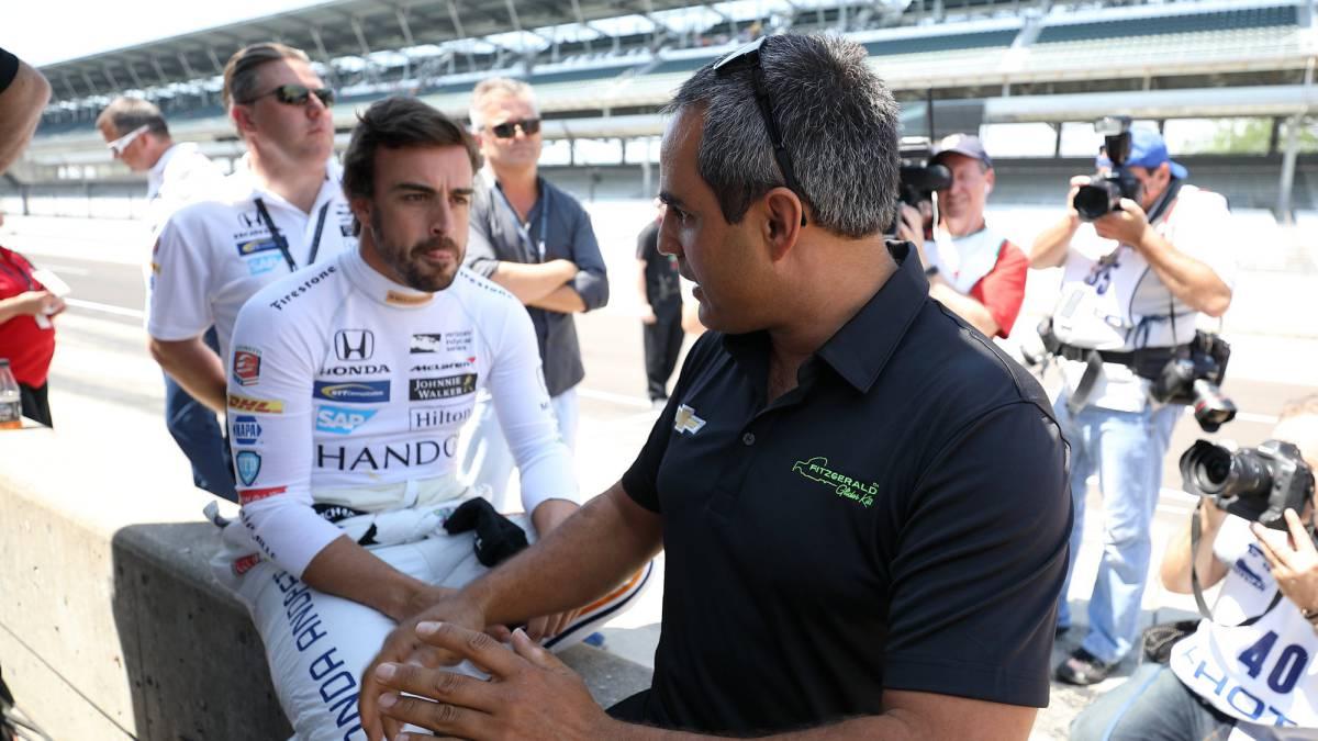 Alonso termina cuarto la jornada del viernes en Indy 500