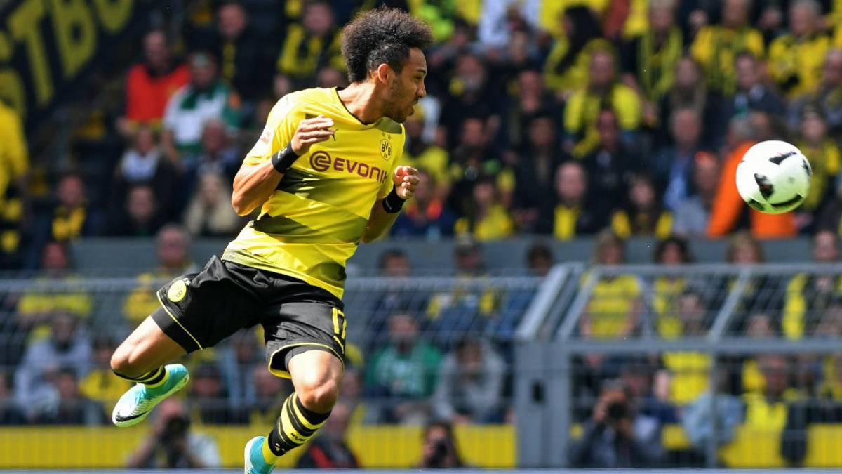 Pierre-Emerick Aubameyang se consagró como máximo goleador de la Bundesliga | FOTOS