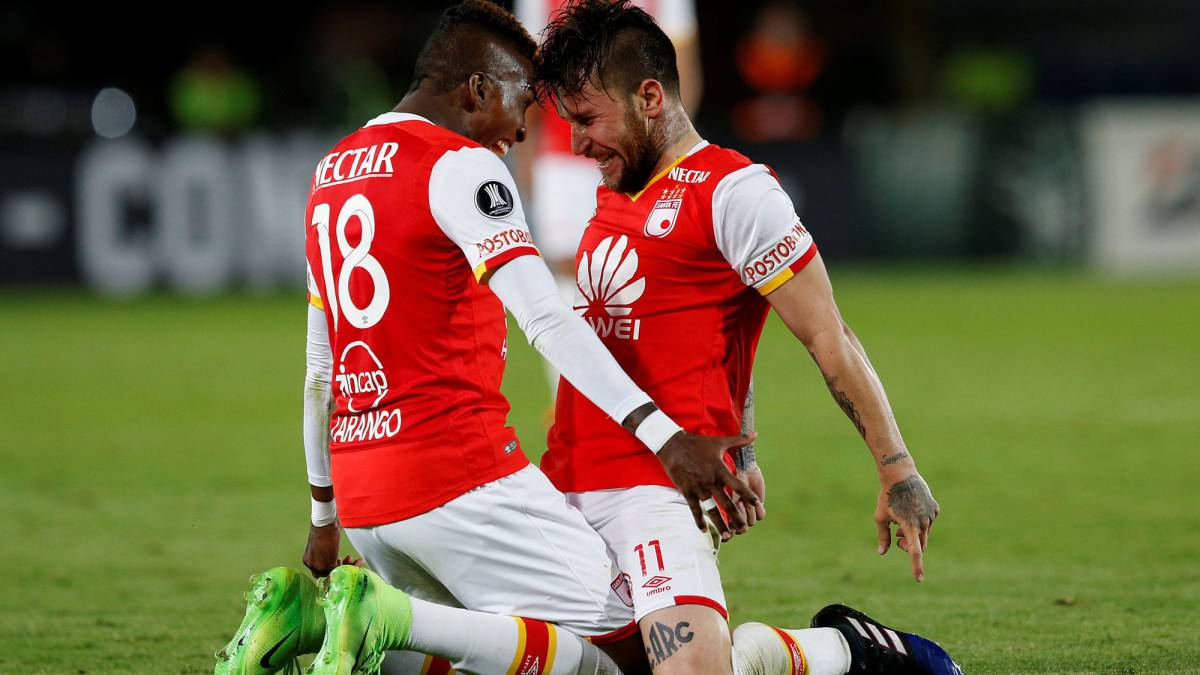 Santa Fe Vs. The Strongest, fecha 6 Copa Libertadores