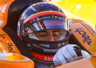 "Franchitti a Alonso: ""En Indy los errores se castigan"""