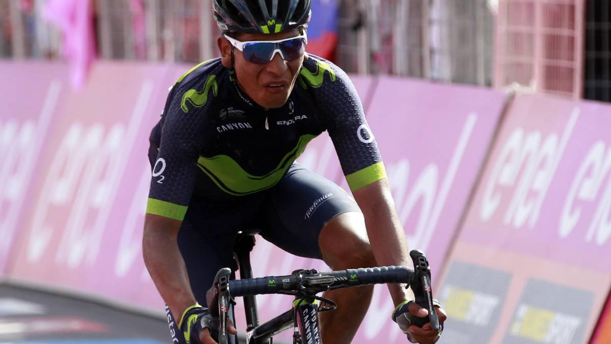 Nairo Quintana se convierte en el nuevo líder del Giro de Italia