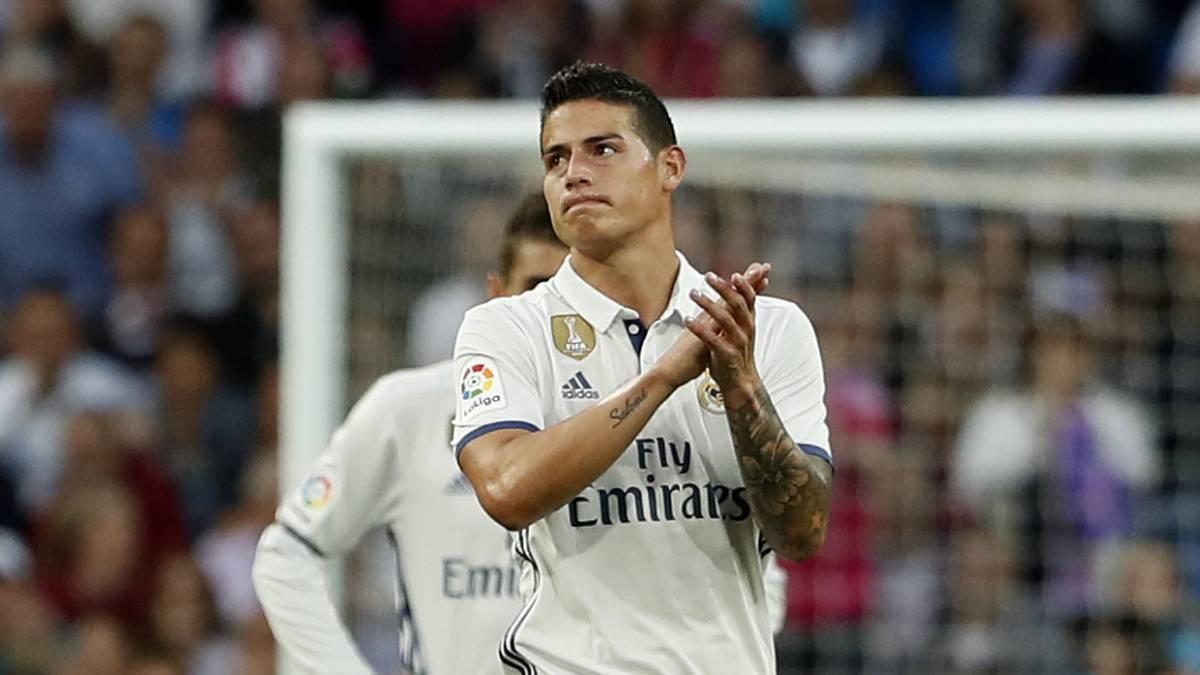 Inter lanza primera oferta por James Rodríguez