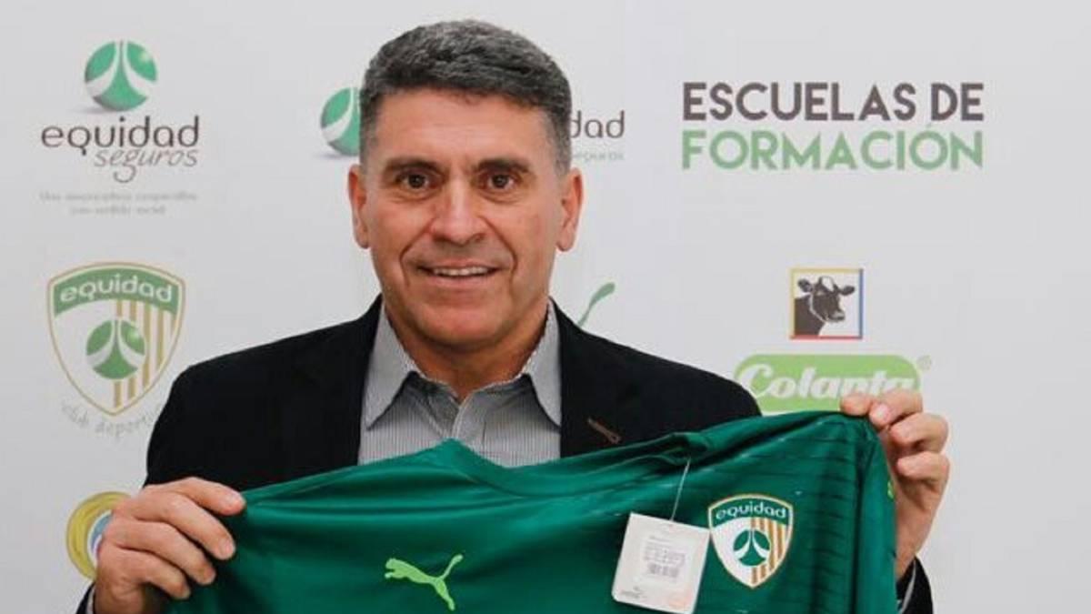Luis Fernando Suárez, nuevo técnico de La Equidad