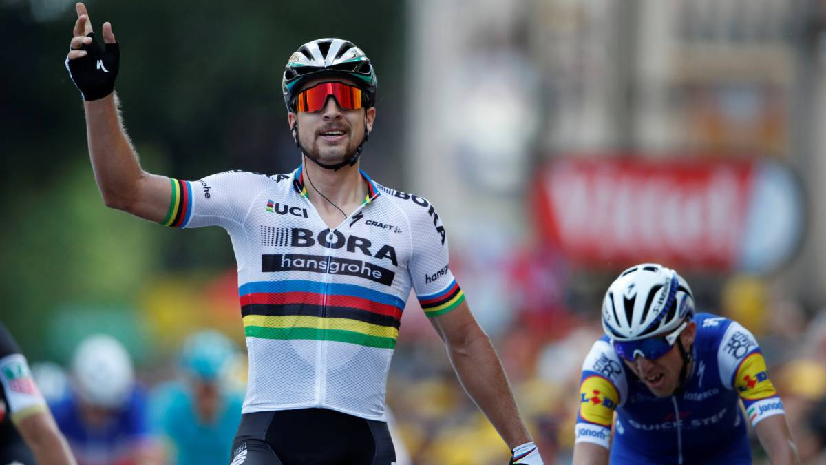 Sagan gana la tercera etapa del Tour, Nairo llega en puesto 11