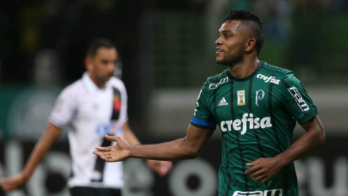 Guerra, baja en Palmeiras por accidente doméstico