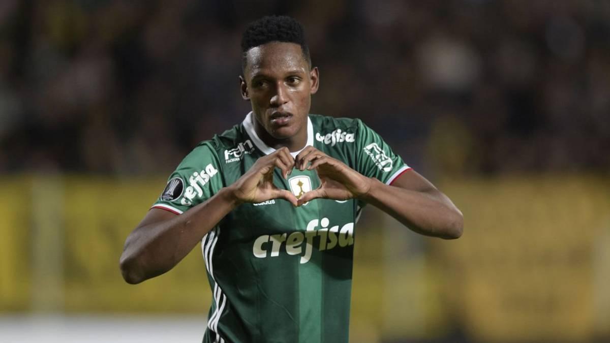 Yerry Mina, sí o sí, jugará en Barcelona, asegura su representante
