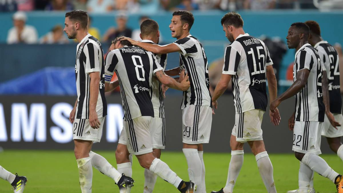 La Juventus venció a la Roma en penales