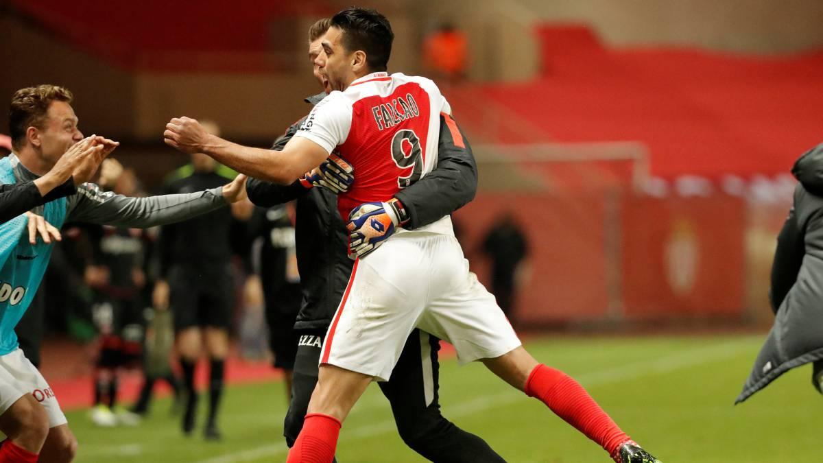 Falcao lidera la goleada del Mónaco con un triplete de oro