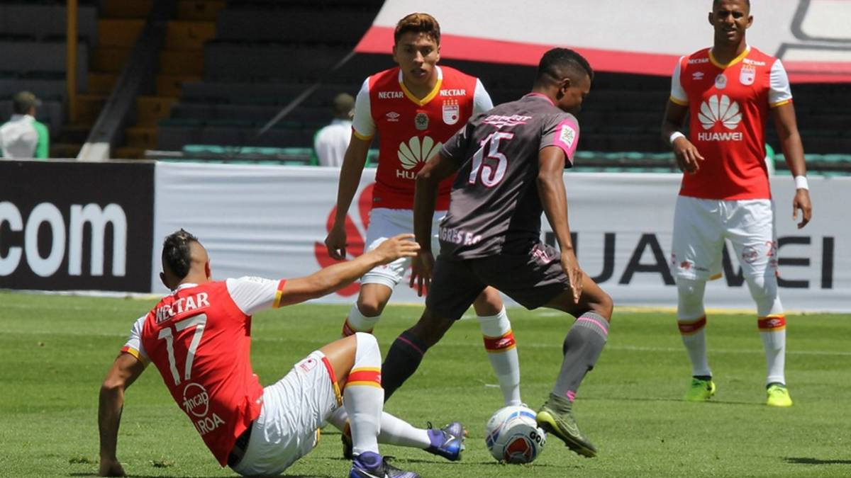 Independiente Santa Fe cayó sorpresivamente ante Tigres