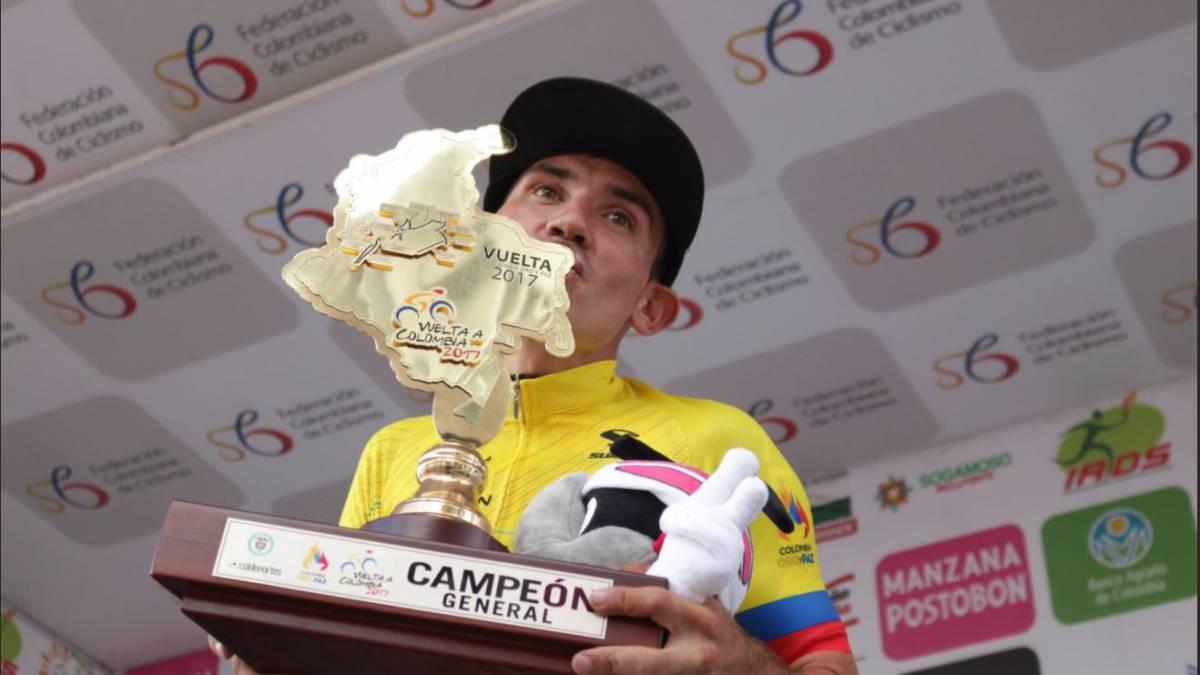 Vuelta a Colombia: Nelson Soto obtiene el triunfo en la décima etapa