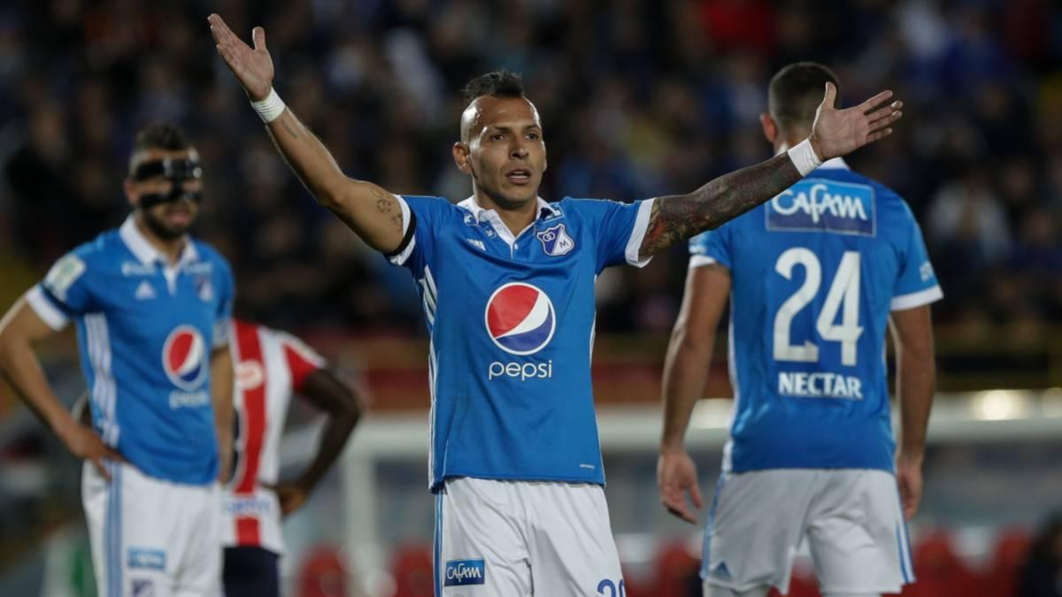 Los 'azules' por la hazaña en Barranquilla — Junior vs Millonarios