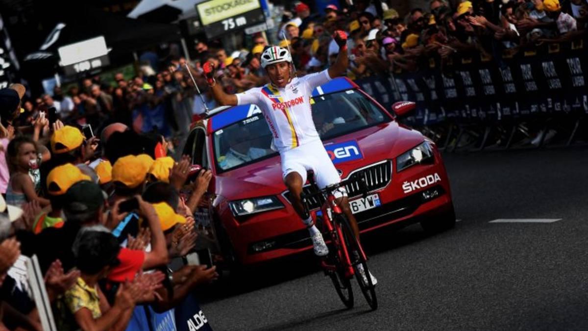 Egan Bernal, nuevo líder del Tour de l'Avenir