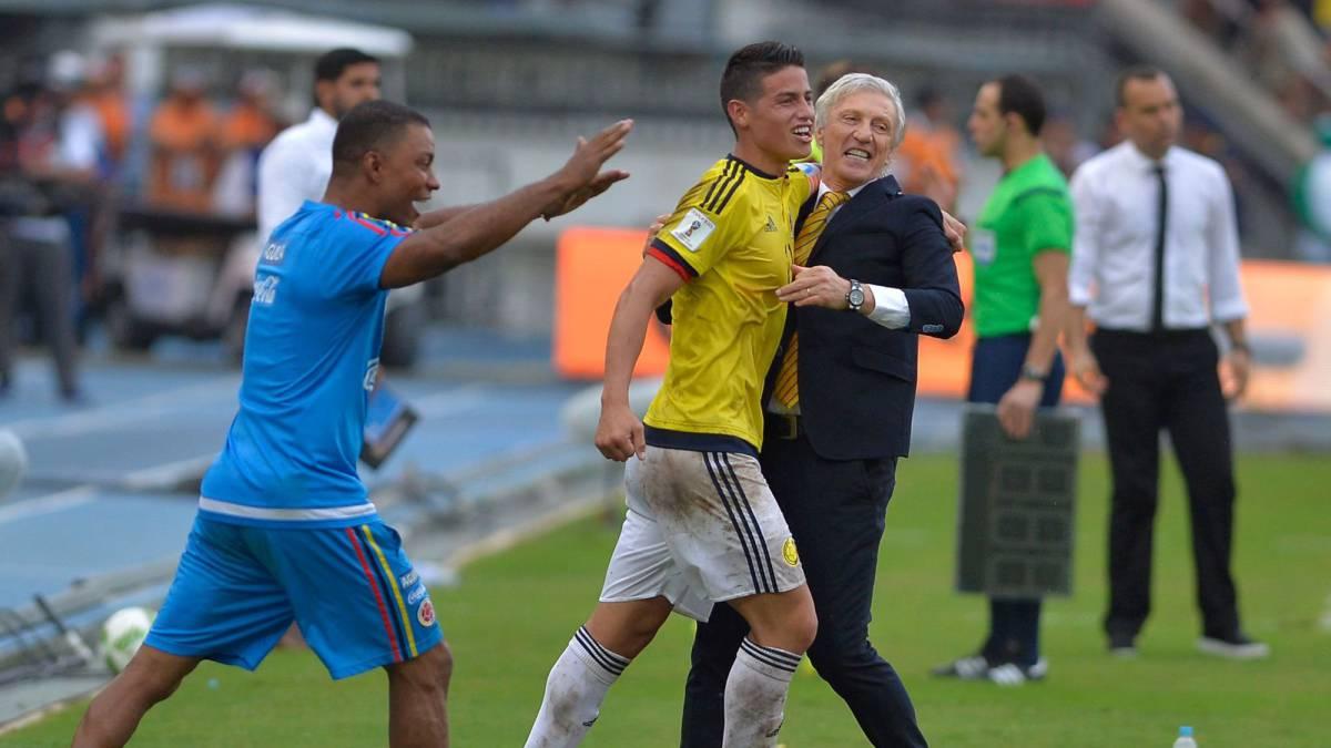 As iba colombia en anteriores eliminatorias faltando 3 fechas