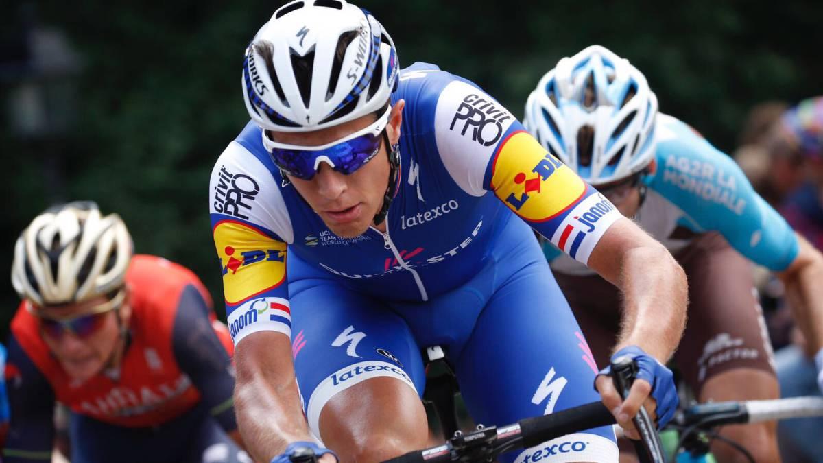 Ciclista del Quick Step ofendió al Manzana Postobón — Vuelta a España