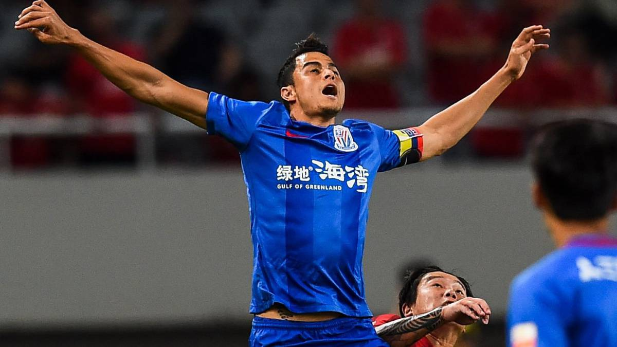 Goles colombianos en China