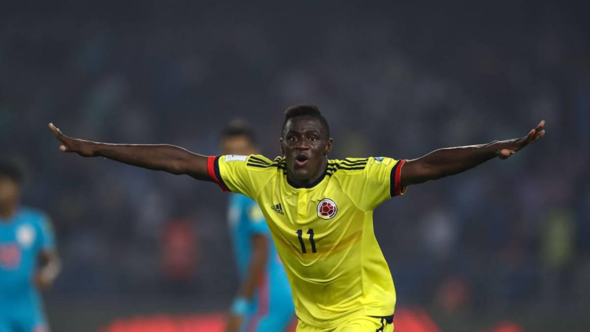 Colombia venció a Estados Unidos y avanzó en el Mundial sub 17