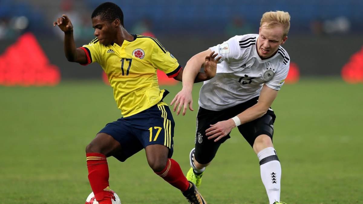 Colombia se despide del Mundial Sub-17 goleada por Alemania — COLOMBIA