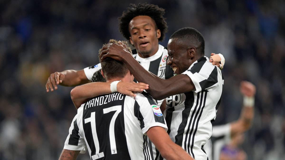 Mandzukic rescató a la Juventus en el final