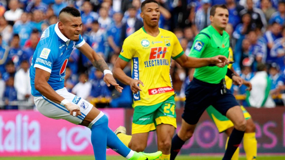 Atlético Huila vs Millonarios, Liga Águila — Partido en vivo