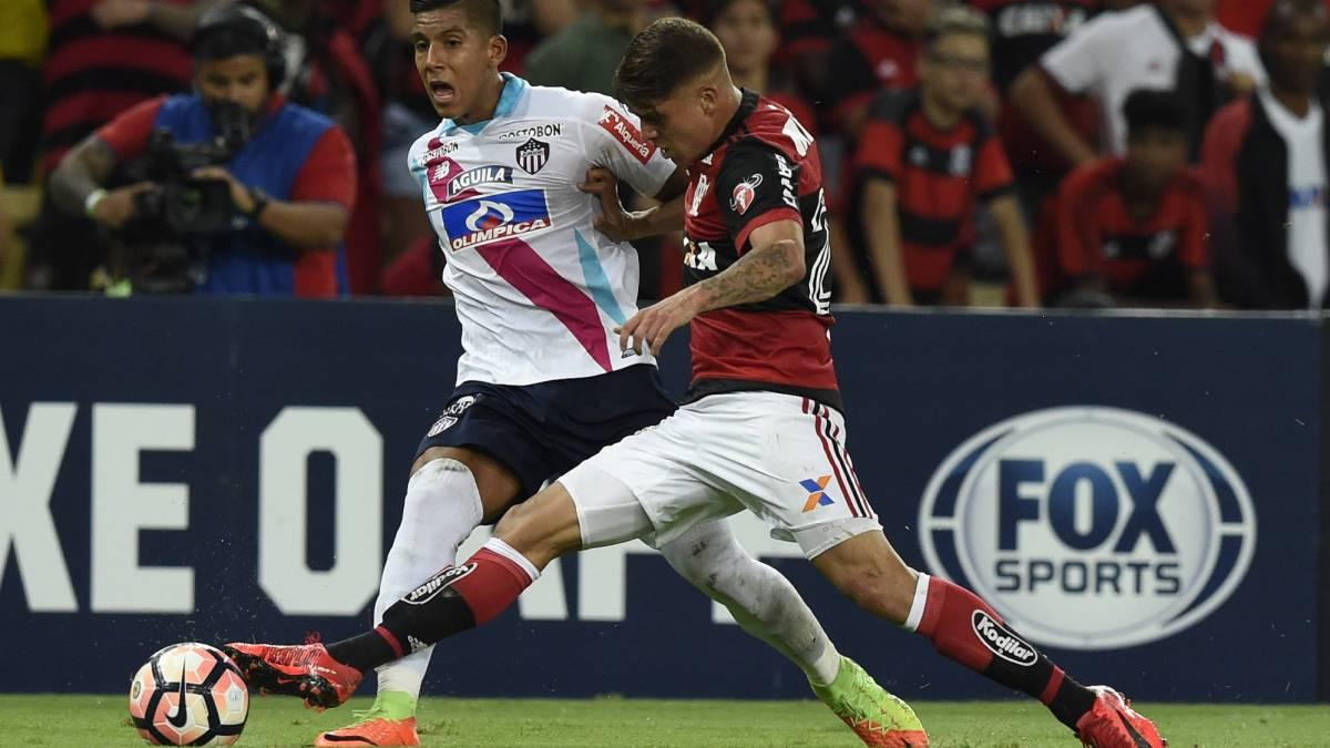 Sudamericana: Flamengo vence a Junior y jugará la final