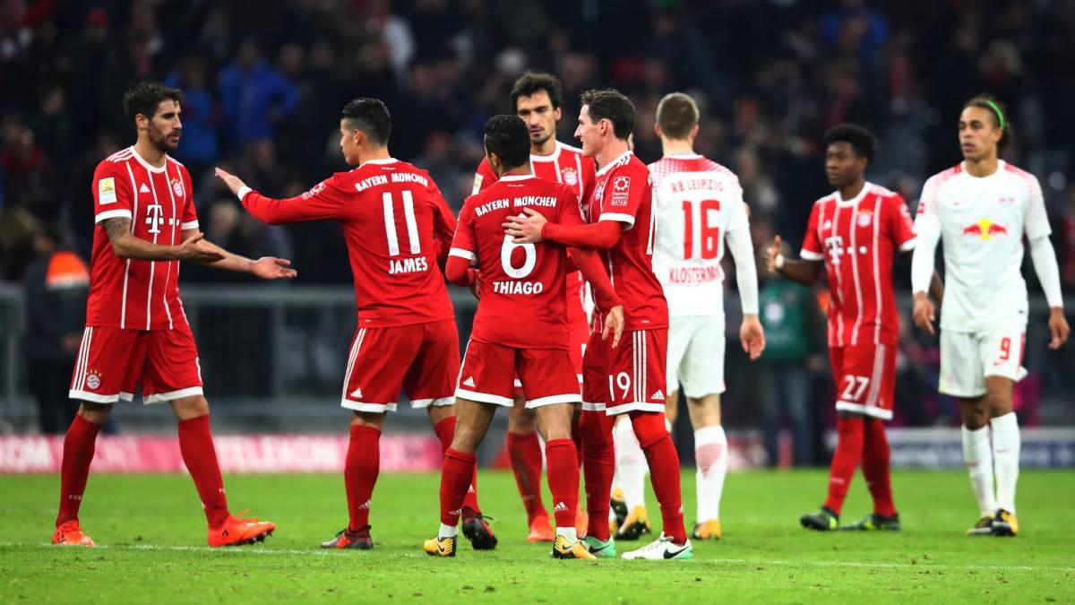 James se destacó en triunfo del Bayern sobre el Borussia