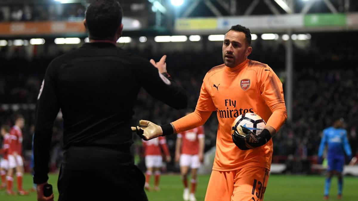 Arsenal es eliminado de la FA Cup — Problemas para Ospina