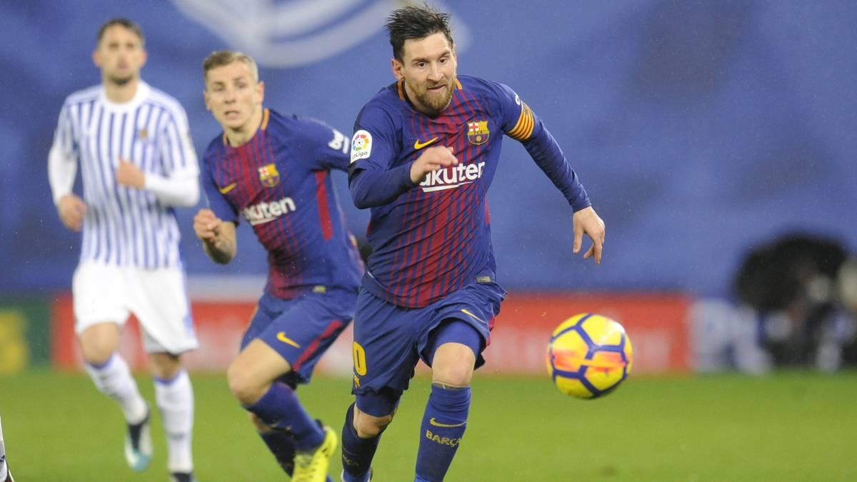 La sociedad de moda en el Camp Nou — Leo Messi-Alba
