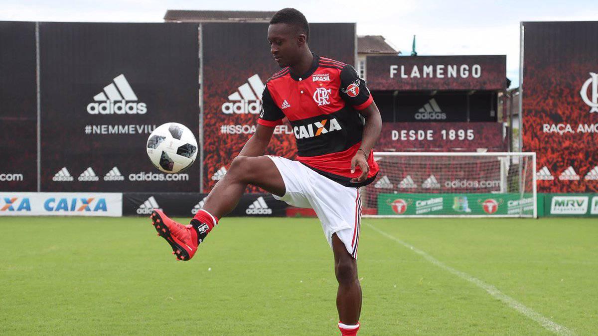 Marlos Moreno es el remplazo de Guerrero en Flamengo