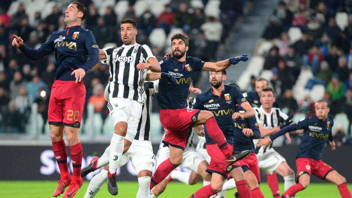 56834deeb1 Juventus 1 - 0 Genoa  La  Vecchia Signora  sigue a 1 punto del líder ...