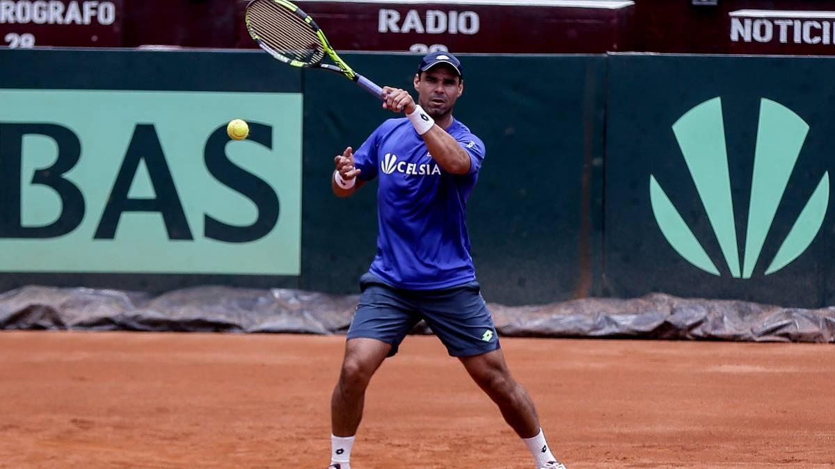 Colombiano Alejandro Falla se retira del tenis